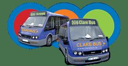Clare Bus logo