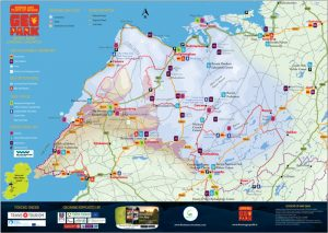 Burren & Cliffs of Moher Geopark Map