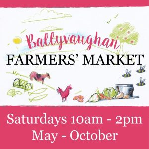 Ballyvaughan Farmers Market 2015 sign