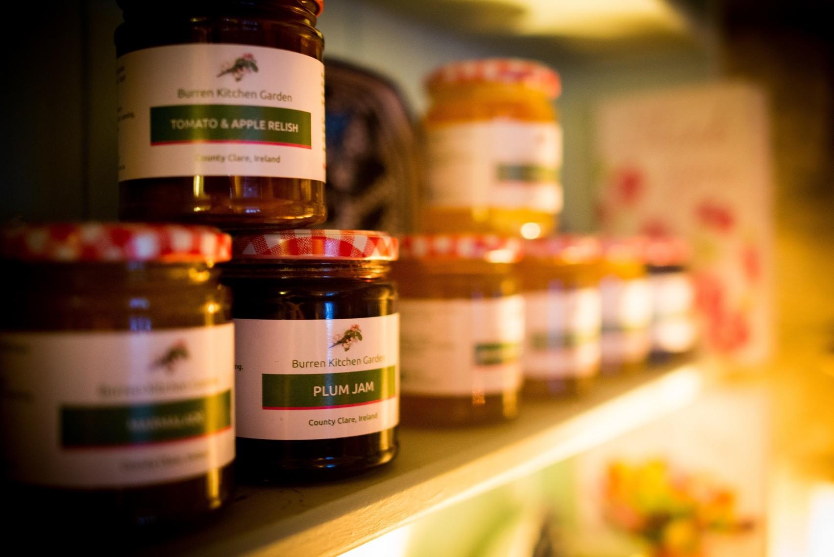 Kitchen Garden Preserves Clareville House Kitchen Garden Visit The Burren