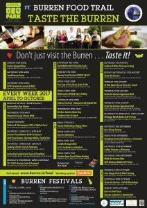 Taste the burren Events 2017 Food
