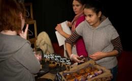 Fabiola at Burren Food Fayre