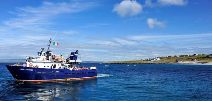 Doolin2Aran Ferries Happy Hooker