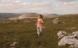 Karina McGrath running on Mullaghmore