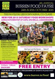 Food Fayre Poster 2015