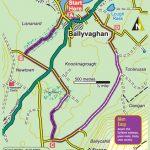 Ballyvaughan Wood Loop Map