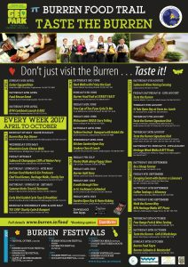Taste the burren Events 2017 Food
