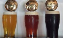 Burren Brewery taps